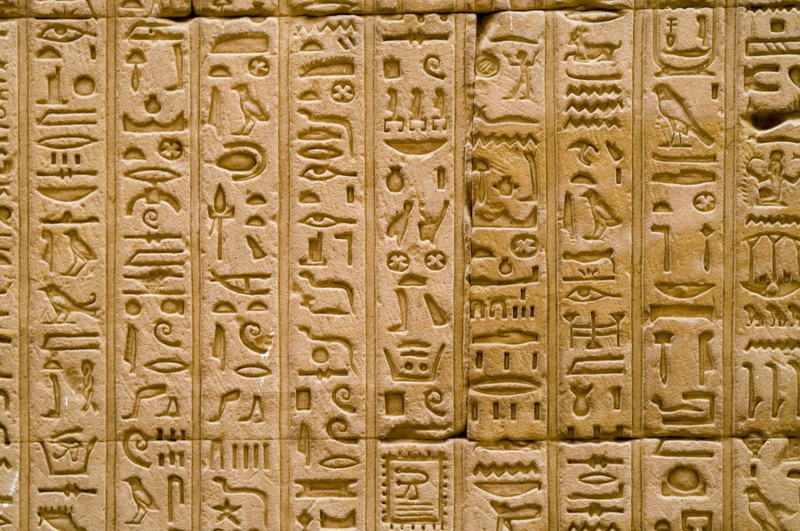 Hieroglyphics Board with Characters