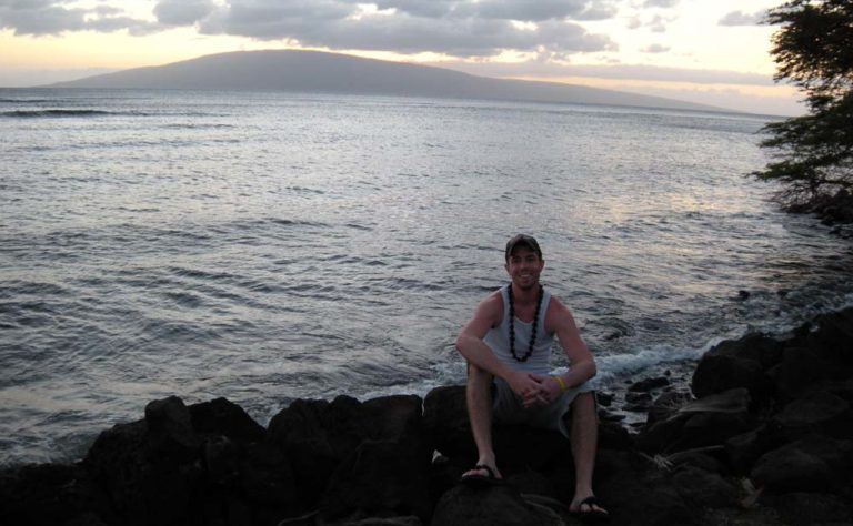 Keith Brown in Maui